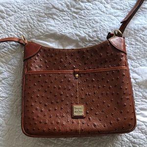 Dooney & Bourke shoulder purse, brown